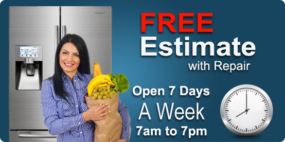 Free Appliance Repair Estimates